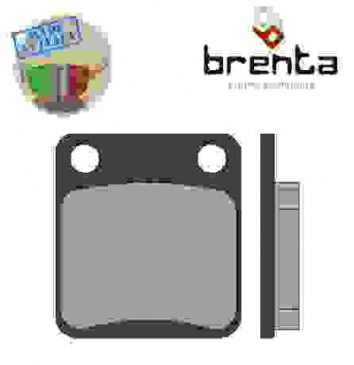 Picture of Kreidler Enduro 125 15 Brake Pads Rear Brenta Standard (GG Type)