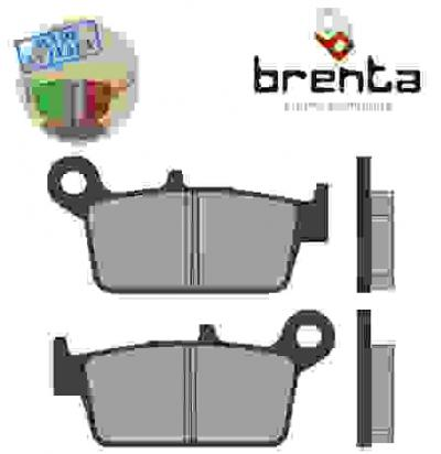Picture of Honda CR 125 RL 90 Brake Pads Rear Brenta Standard (GG Type)