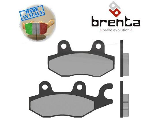 Picture of Kawasaki Z 300  (ER300) 16 Brake Pads Front Brenta Sintered (HH Type)
