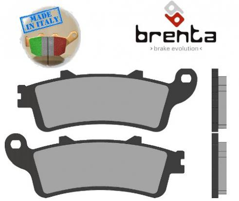 Picture of Honda FJS 600 Silverwing Scooter D6/D7 (Non ABS models) 06-10 Brake Pads Front Brenta Sintered (HH Type)
