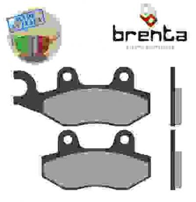 Picture of Superbyke RMR 125 (QM125GY-2B) (Rear Drum Brake) 07-08 Brake Pads Front Brenta Sintered (HH Type)