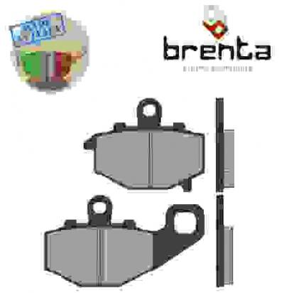 Picture of Kawasaki ER-6 F ECF 12 Brake Pads Rear Brenta Sintered (HH Type)