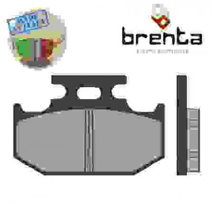 Picture of Kawasaki KDX 200 E4 92 Brake Pads Rear Brenta Sintered (HH Type)