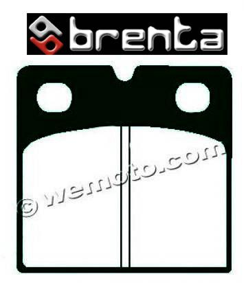 Brake Pads Front Left Brenta Sintered (HH Type)