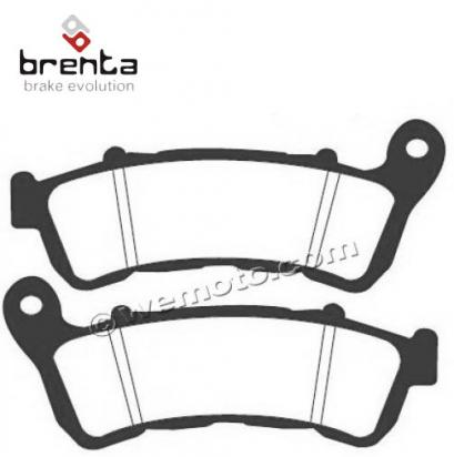 Picture of Honda FES 125 S-Wing 10-11 Brake Pads Front Brenta Sintered (HH Type)