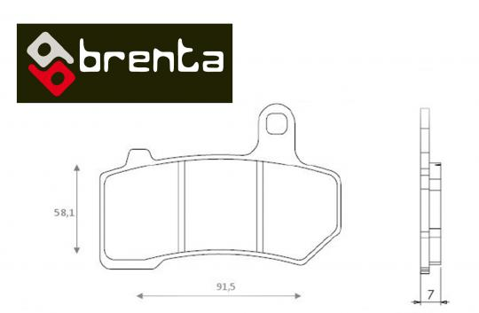 Picture of Brenta Brake Pads FT4171 Sintered