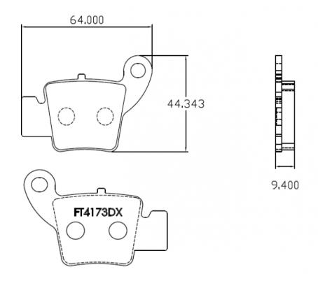 Picture of Brenta Brake Pads FT3173