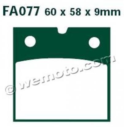 Picture of EBC Brake Pads FA77