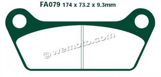 Picture of EBC Brake Pads FA79