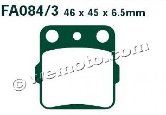 Picture of Brake Pads Rear Left EBC Sintered (GG Type)