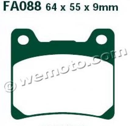 Picture of Pads Rear EBC Sintered (HH Type)