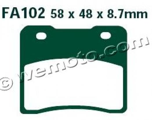 Picture of EBC Brake Pads FA102