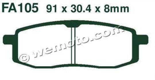 Picture of EBC Brake Pads FA105