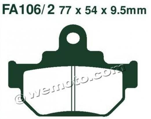 Picture of EBC Brake Pads FA106/2