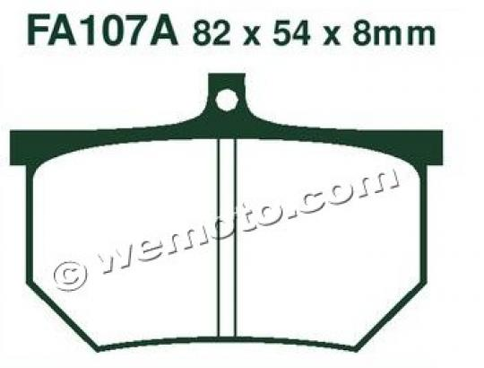 Picture of EBC Brake Pads FA107A