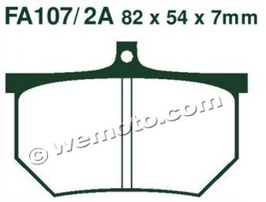 Picture of EBC Brake Pads FA107/2A