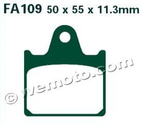 Picture of EBC Brake Pads FA109