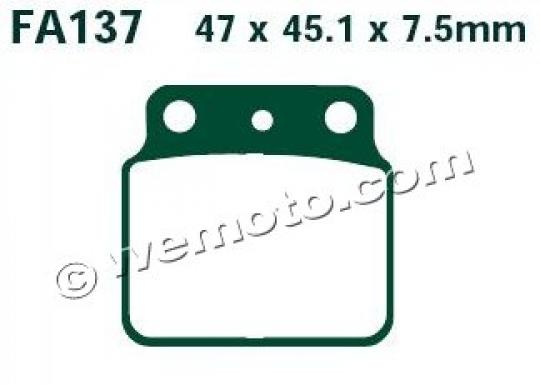 Picture of Brake Pads Rear EBC Sintered (GG Type)