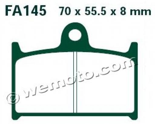 Picture of EBC Brake Pads FA145HH Sintered