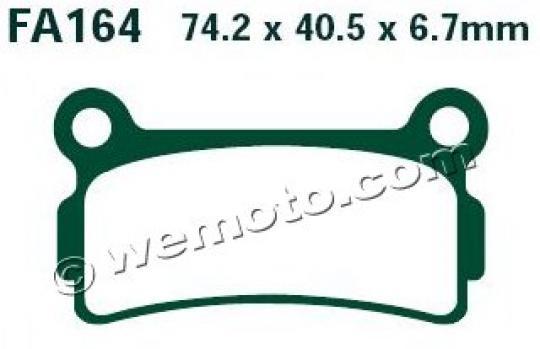 Picture of EBC Brake Pads FA164