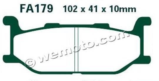 Picture of EBC Brake Pads FA179