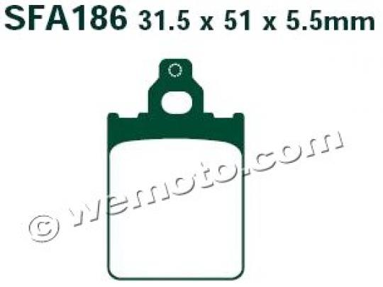 Picture of EBC Brake Pads SFA186