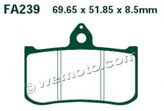 Picture of EBC Brake Pads Honda RS125 95-03 / RS250 93-02 (Race Use Only) FA239