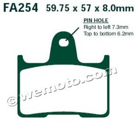 Picture of Brenta Brake Pads FT3137
