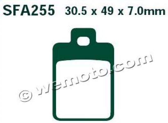 Picture of EBC Brake Pads SFA255