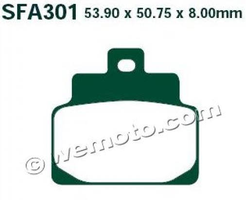 Picture of EBC Brake Pads SFA301