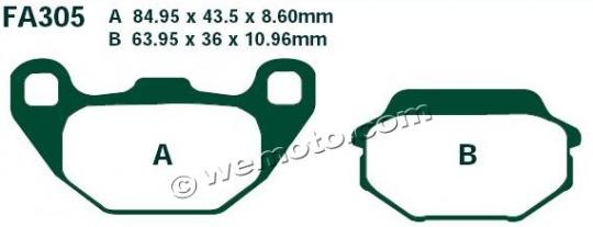 Picture of EBC Brake Pads SFA305
