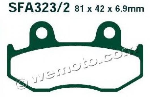 Picture of EBC Brake Pads SFA323/2