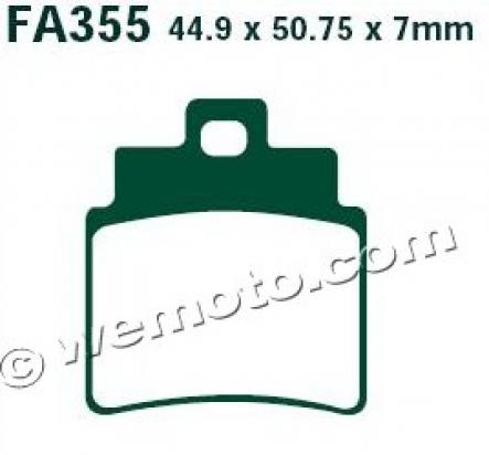 Picture of Brake Pads EBC Sintered FA355R