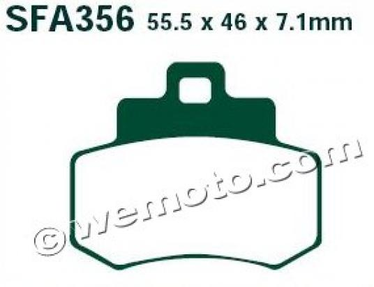 Picture of EBC Brake Pads SFA356
