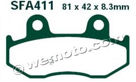 Picture of Brake Pads EBC SFA411HH