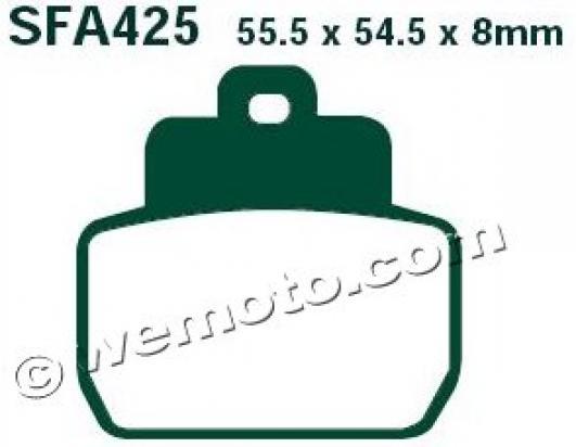 Picture of EBC Brake Pads SFA425