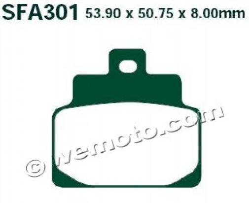 Picture of EBC Brake Pads SFA301HH Sintered