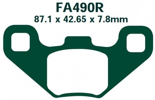 Picture of EBC Brake Pads Off Road FA490R  Sintered