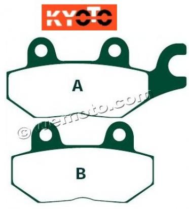 Picture of Brake Pads Front Right Pattern Standard (GG Type)