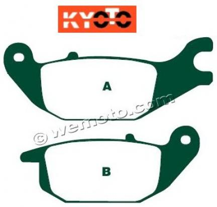 Picture of Brake Pads Rear Kyoto Standard (GG Type)