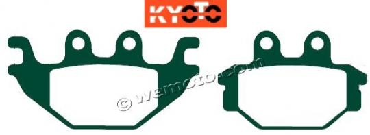 Brake Pads Rear Pattern Standard (GG Type)