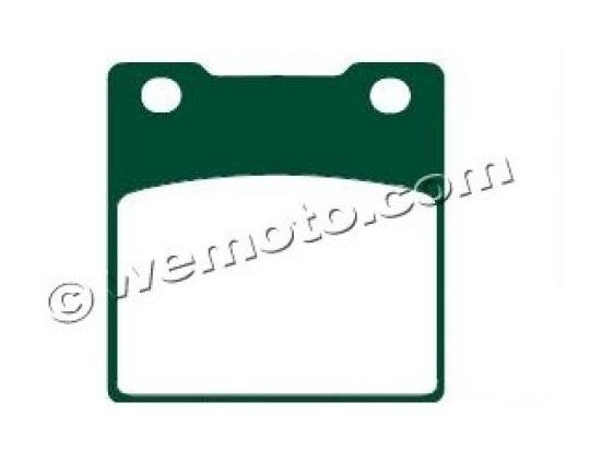 Picture of Brake Pads Rear Pattern Standard (GG Type)