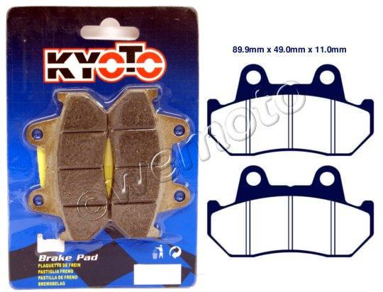 Brake Pads Rear Kyoto Standard (GG Type)