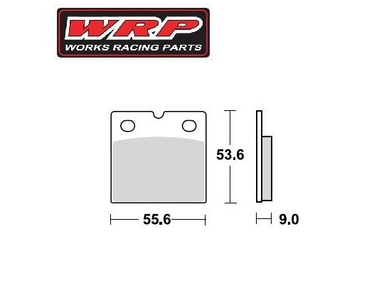 Picture of WRP Brake Pads Supersport  Front  WG-7106-F2 Sintered
