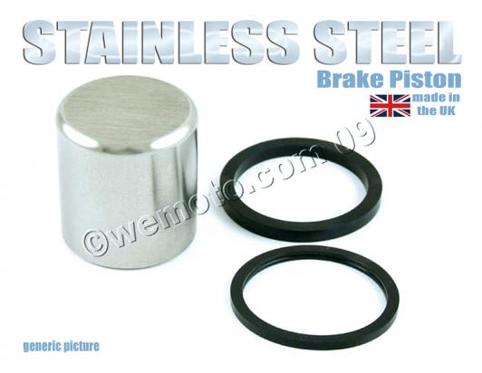 Picture of Stainless Steel Piston and Seals Rear Caliper Small