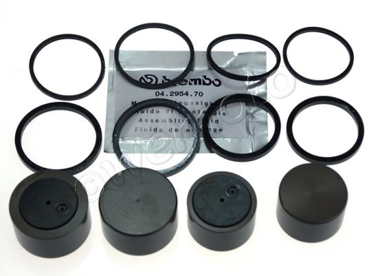 Picture of Brake Caliper Pistons and Seals Kit BMW Brembo 36mm 32mm 4 Pistons Genuine Part 34112338257
