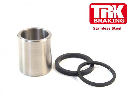 Picture of Stainless Steel Piston and Seals Front Caliper