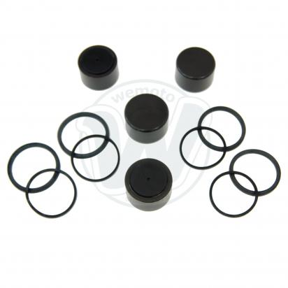 Picture of Brake Caliper Pistons and Seals Kit BMW Brembo 34mm 32mm 4 Pistons as 34 11 2 331 631