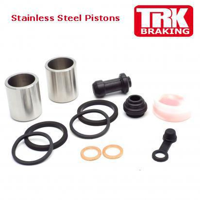 Picture of Honda CB 500 FAH 17 Brake Piston and Seal Kit Stainless Steel Front - by TRK