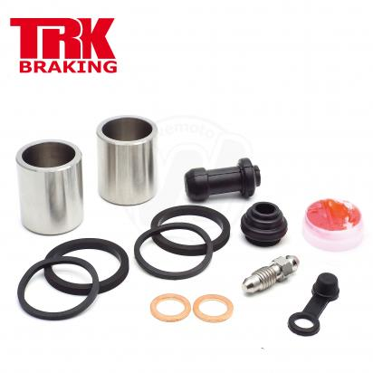 Brake Piston and Seal Kit Stainless Steel Front - by TRK